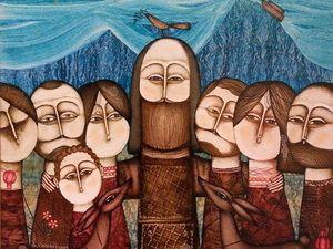 Тёплая Армения в живописи Армена Ваграмяна. Ярмарка Мастеров - ручная работа, handmade.
