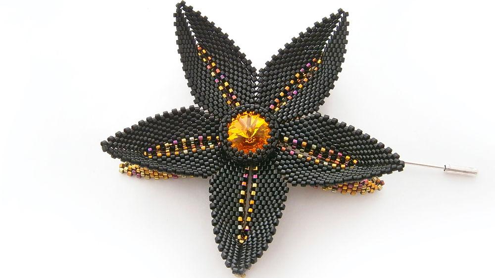 украшения, бисер, брошь из бисера, подарок, jewellery, designer jewelry, beadwork