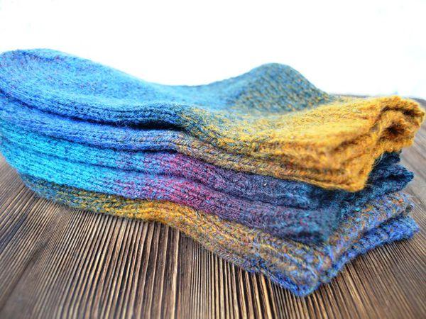 Носочки из шерсти, в природных оттенках. | Ярмарка Мастеров - ручная работа, handmade