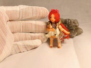 Брусничка и её волшебные друзья. Ярмарка Мастеров - ручная работа, handmade.