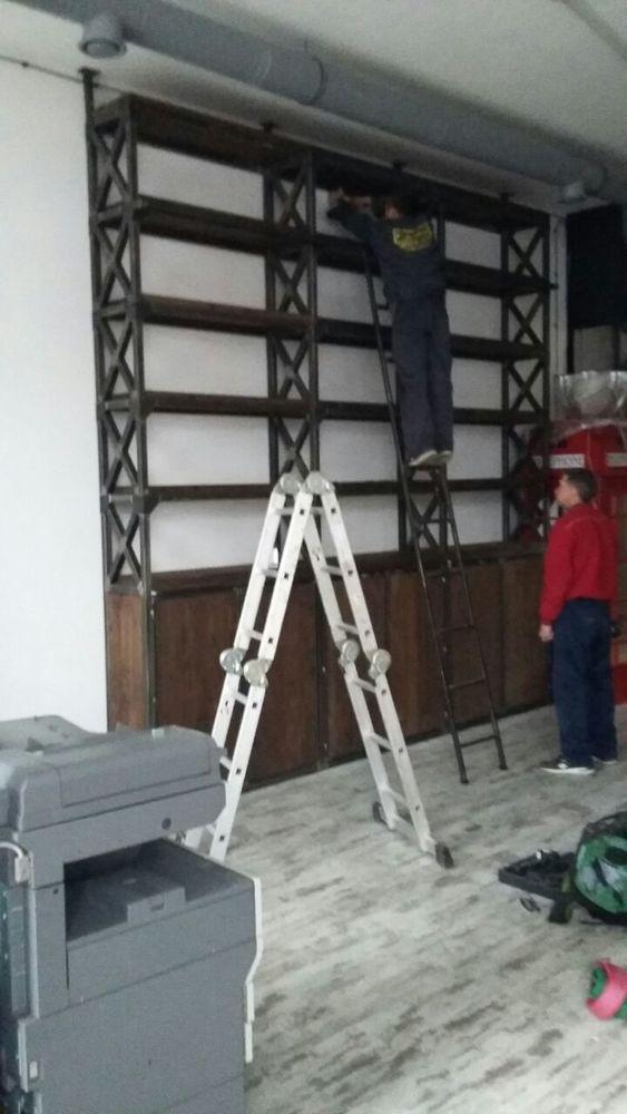 стеллаж, стеллаж на заказ, производство мебели, система хранения лофт