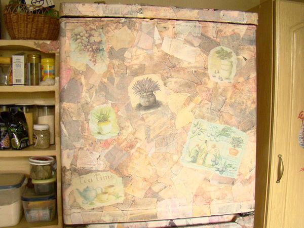 Видео мастер-класс: декорируем холодильник под природный камень   Ярмарка Мастеров - ручная работа, handmade