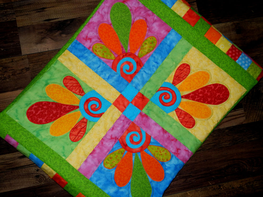 Лоскутное одеяло для ребенка