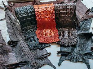 Как правильно ухаживать за изделиями из кожи крокодила, питона, морского ската | Ярмарка Мастеров - ручная работа, handmade