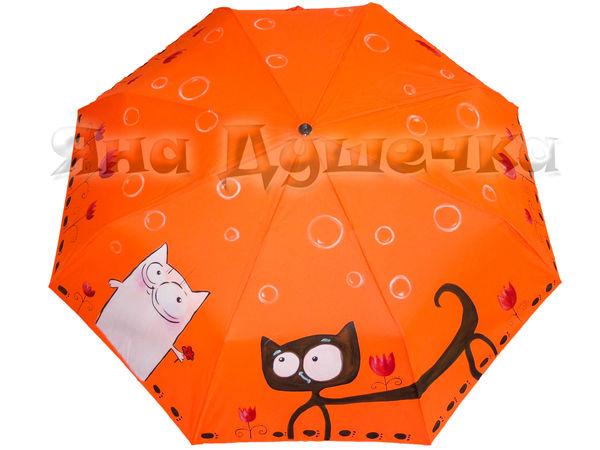 Зонт на заказ   за 1290 руб  с росписью! До 27.09.16.   Ярмарка Мастеров - ручная работа, handmade