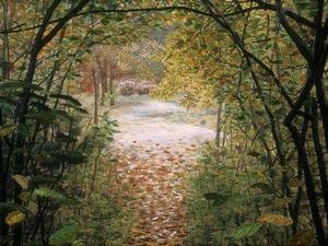 Чувство безвременья в вышитых пейзажах художницы по текстилю Linda Behar. Ярмарка Мастеров - ручная работа, handmade.