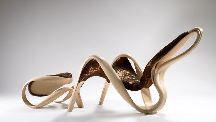 стул, лист