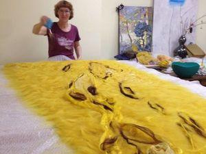 Мк по валянию платья. Ярмарка Мастеров - ручная работа, handmade.