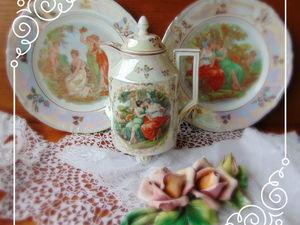 Пополнение в мою коллекцию чайников-кофейников.... Ярмарка Мастеров - ручная работа, handmade.
