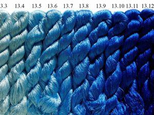 Шелковые нитки для вышивки превосходного качества! Шёлк 100%. Ярмарка Мастеров - ручная работа, handmade.