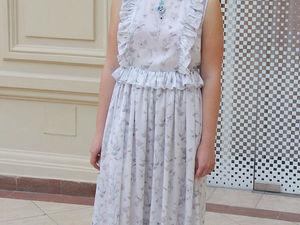 Только в эти выходные - любое платье -50%!. Ярмарка Мастеров - ручная работа, handmade.