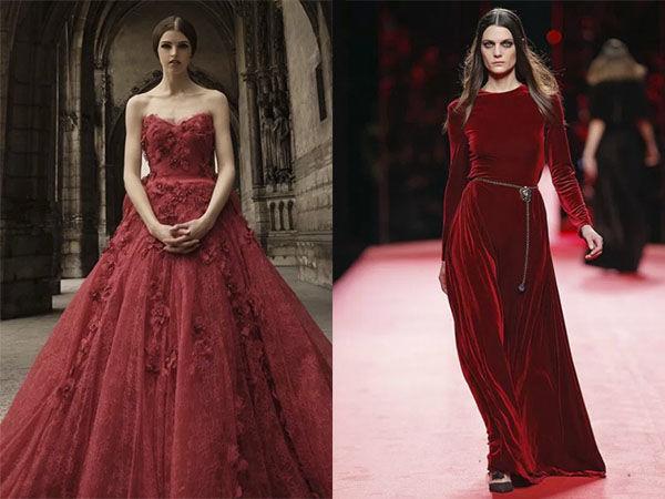 красная аврора, мода