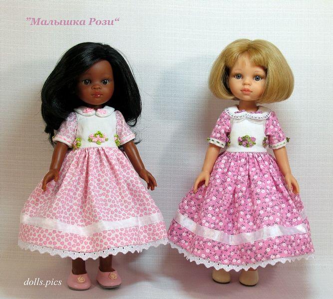 одежда для кукол, изделия с вышивкой