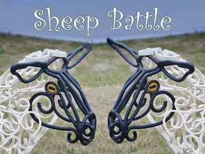 Sheep Battle. Ярмарка Мастеров - ручная работа, handmade.