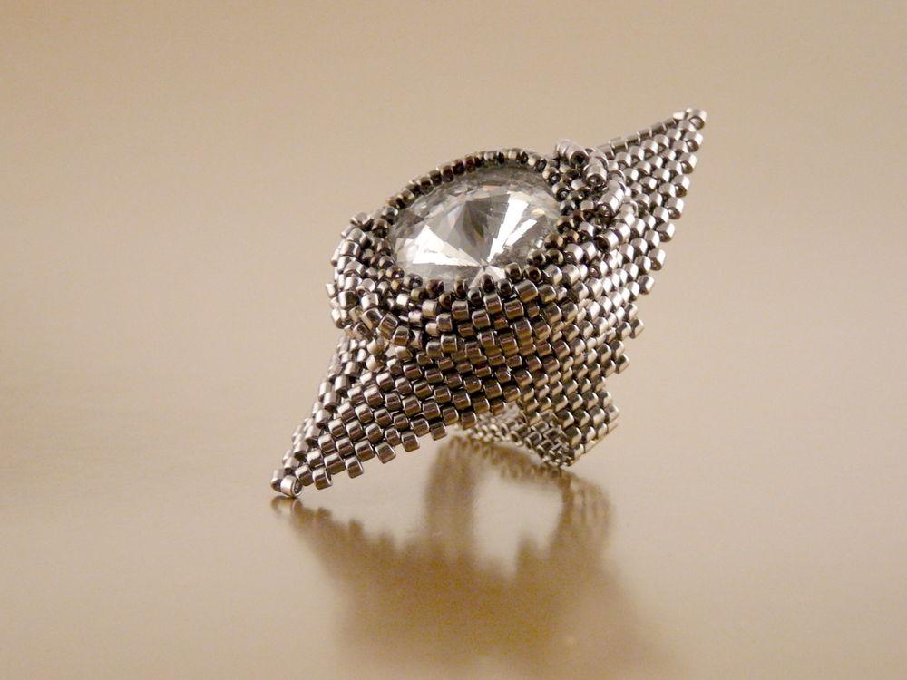 коктейльное платье, кольцо ручной работы, ручнаяработа, авторские кольца, светлана айвазова, вечернее украшение