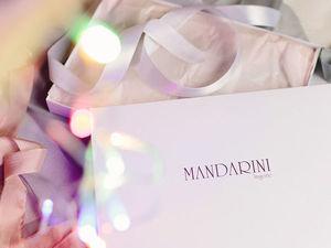 Красивая упаковка для халатов и сорочек MANDARINI. Ярмарка Мастеров - ручная работа, handmade.