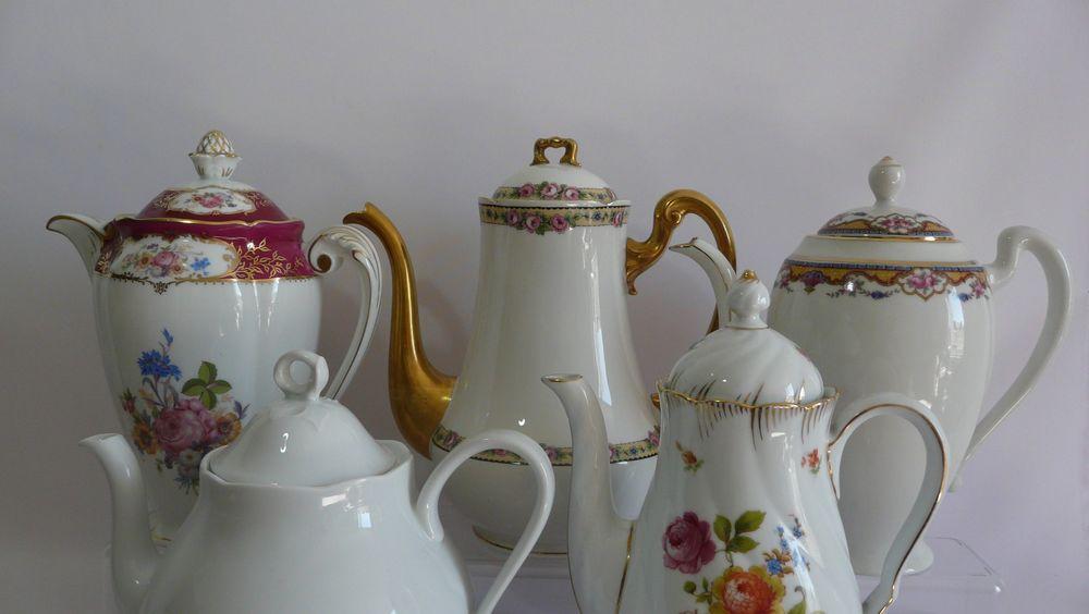 антикварные чайники