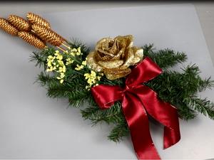 Новогодняя икебана. Ярмарка Мастеров - ручная работа, handmade.