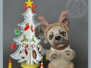 Подарю щенка на Рождество! Записывайтесь!. Ярмарка Мастеров - ручная работа, handmade.