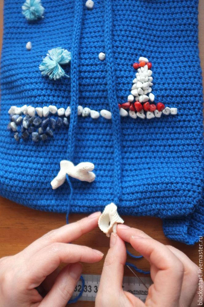 Пляжная мода: декорируем летний рюкзачок, фото № 13