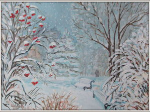 Распродажа зимних пейзажей! | Ярмарка Мастеров - ручная работа, handmade