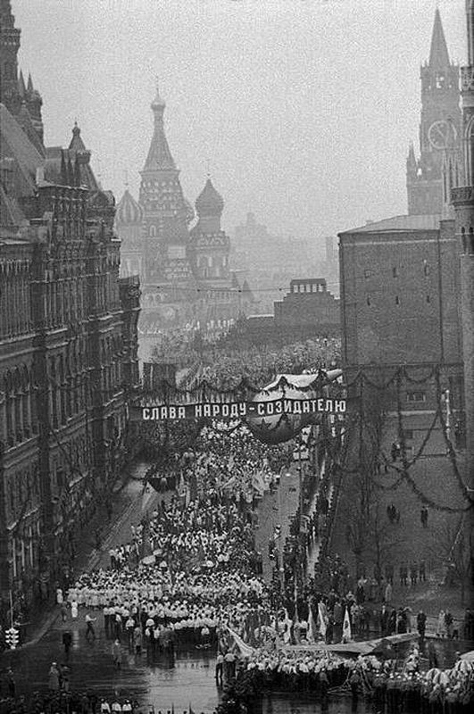 Lessing42 Москва 1958 года в фотографиях Эриха Лессинга