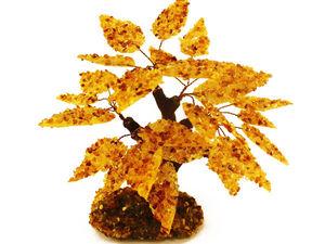 Распродажа деревьев из янтаря | Ярмарка Мастеров - ручная работа, handmade