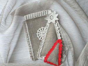 Изготавливаем милую елочку-саше | Ярмарка Мастеров - ручная работа, handmade