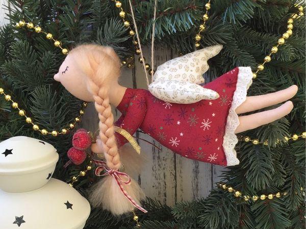 Розыгрыш чудесного новогоднего ангелочка! | Ярмарка Мастеров - ручная работа, handmade