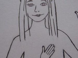 Картина Встреча с Ангелом.. Ярмарка Мастеров - ручная работа, handmade.