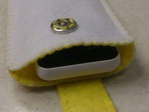 Шьем фетровый чехол для мобильного телефона. Ярмарка Мастеров - ручная работа, handmade.