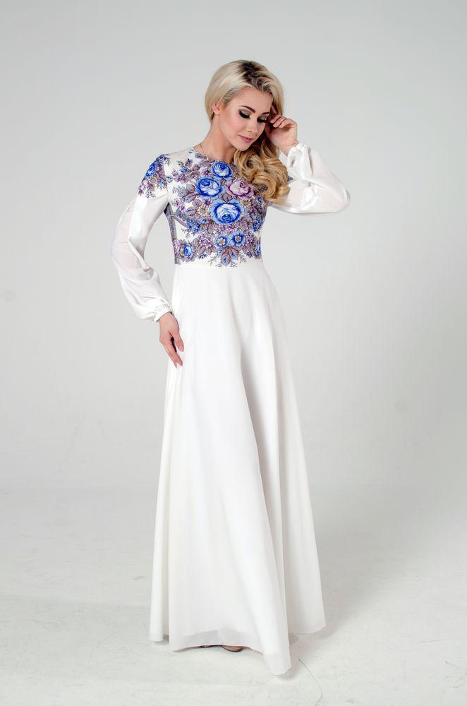 белое платье, скидка к 8 марта