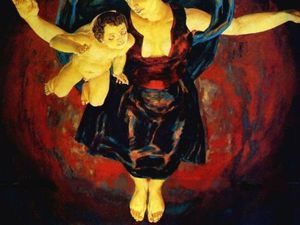 Мадонны войны: картины, поражающие до глубины души. Ярмарка Мастеров - ручная работа, handmade.