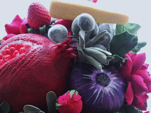 Цветочно-овощной букет с сыром! | Ярмарка Мастеров - ручная работа, handmade