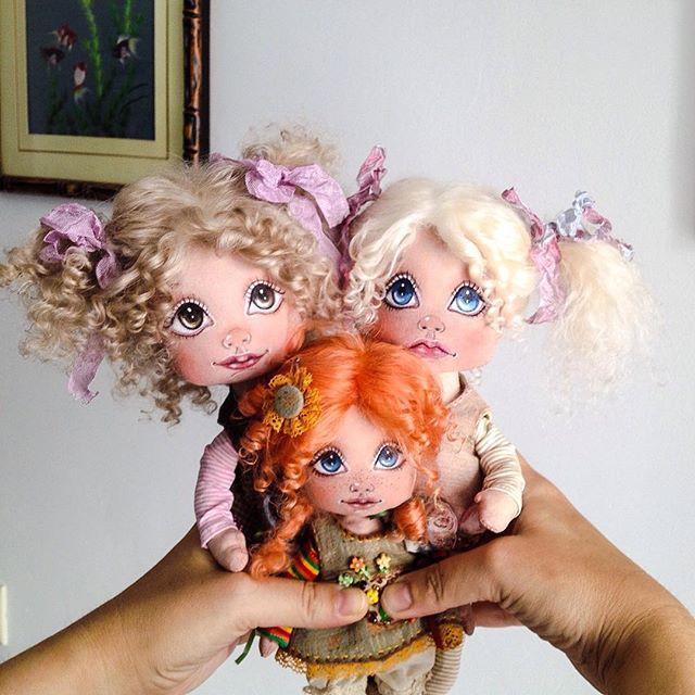 кукла, кукла ручной работы, кукла своими руками, кукла текстильная, кукла из ткани