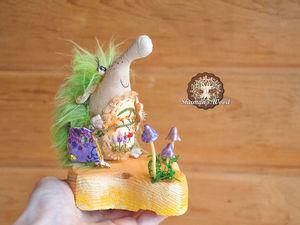 Ежиха Уна. Ярмарка Мастеров - ручная работа, handmade.