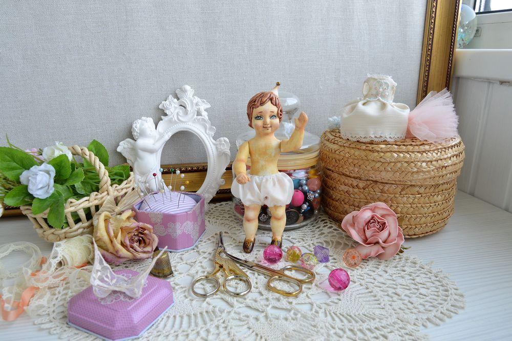 подвижная кукла, полимерная пластика