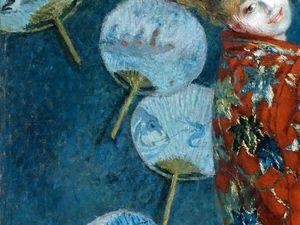 Кимоно в картинах Моне. Ярмарка Мастеров - ручная работа, handmade.