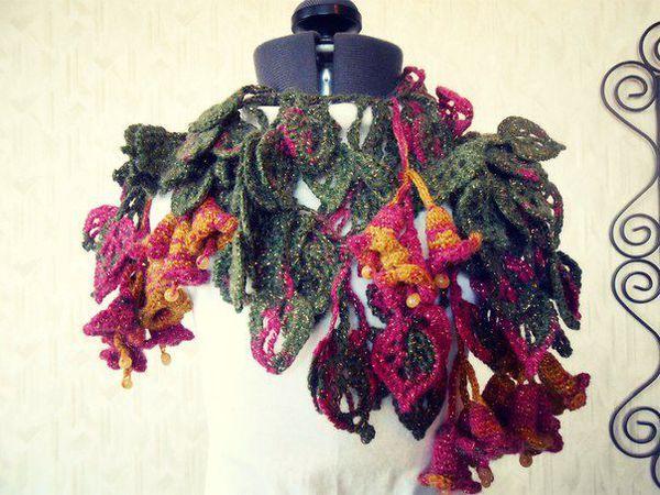 Снижение цен за многие модели шарфиков!!!! | Ярмарка Мастеров - ручная работа, handmade