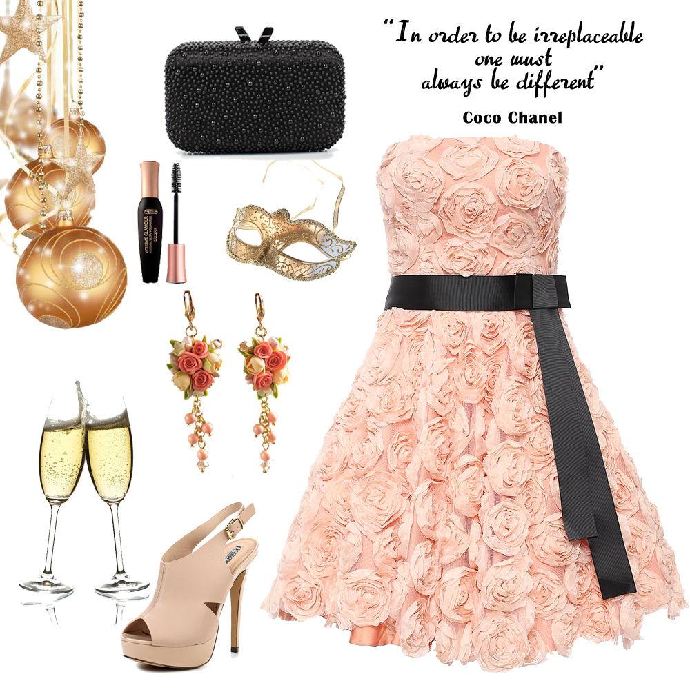 праздник, вечернее платье, коллекция, серьги длинные