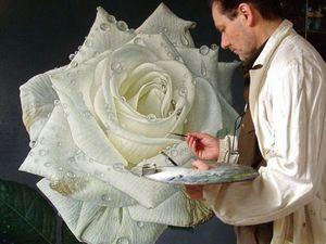 Розы в живописи: подборка картин разных стилей и направлений. Ярмарка Мастеров - ручная работа, handmade.