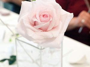 Фотографии с занятия по розе. Ярмарка Мастеров - ручная работа, handmade.