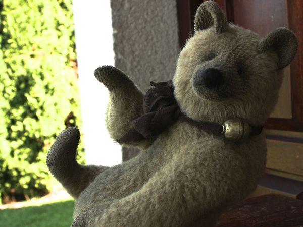 Новый и красивый медведь Айк | Ярмарка Мастеров - ручная работа, handmade