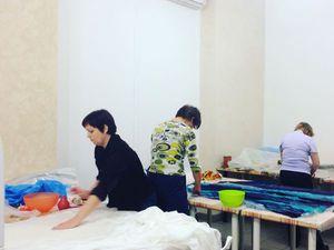 Фоторепортаж с мк Натальи Сафоновой по валянию одежды в технике нунофелтинг | Ярмарка Мастеров - ручная работа, handmade
