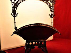 Эстетические изделия из металла. Красивейшая ваза, компании Уэбстер белый металл с посеребрением. | Ярмарка Мастеров - ручная работа, handmade