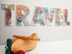For Those Who Raves About Travelling: Maps in Interiors. Livemaster - handmade