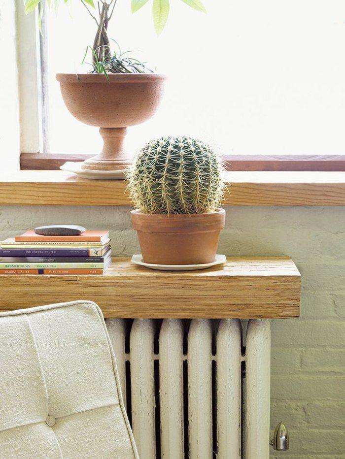 45 идей для декорирования батарей отопления, или Как «замаскировать» радиаторы отопления дома, чтобы не мозолили глаза, фото № 41
