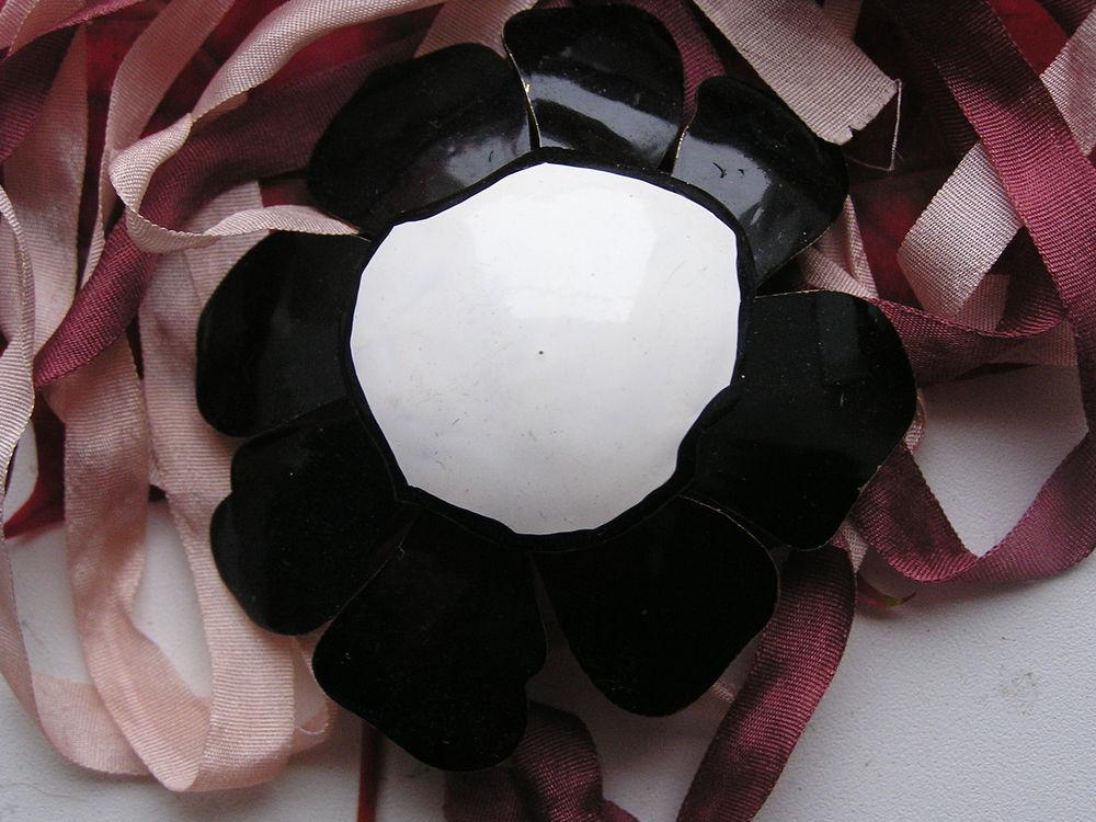 брошь-цветок, винтажная брошь