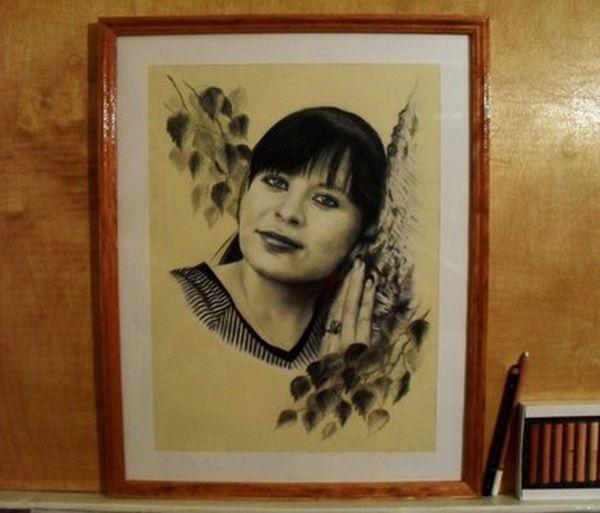 графика, рисование пастелью, уголь, портрет по фото, портрет на заказ, портрет, девушка, создание портрета, создание подарка, пастель, карандаш, мастер-класс, мастер-класс по рисованию