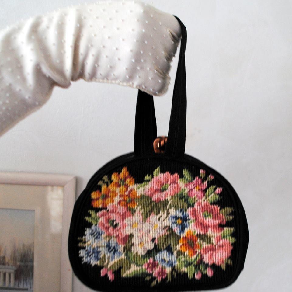 винтажная сумка